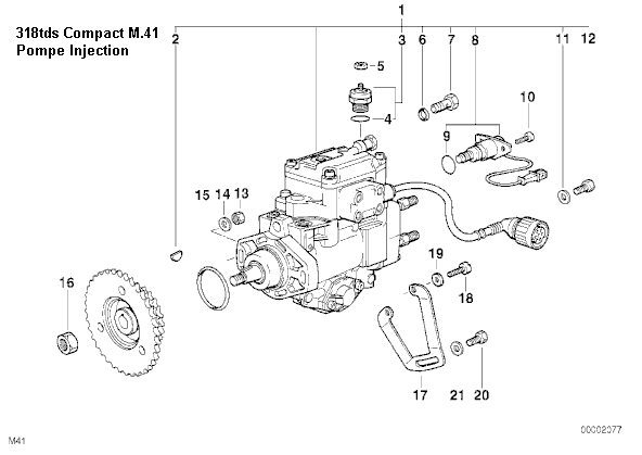 [ BMW E36 318 tds compact an 1998 ] problème ralenti