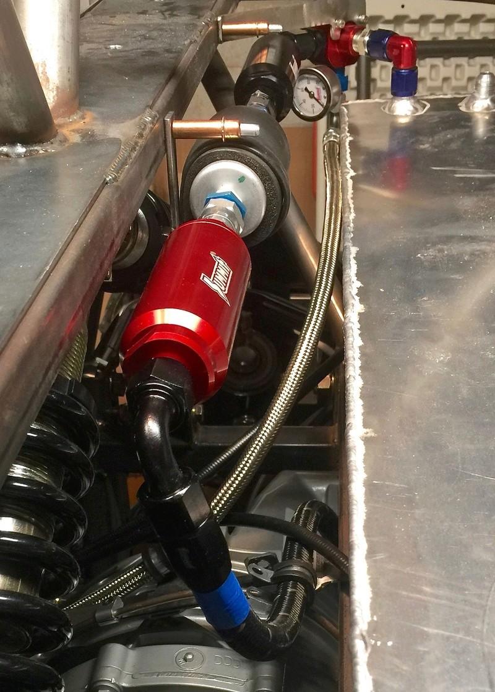 medium resolution of summit fuel filter inline mount billet aluminum black