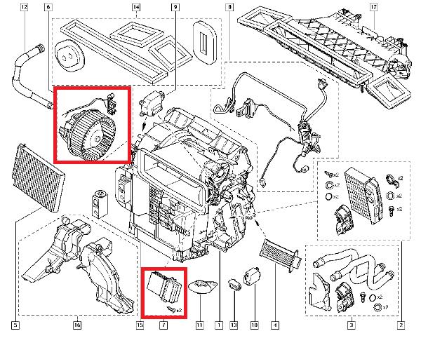 [ Renault Modus an 2009 ] Démonter la résistance de