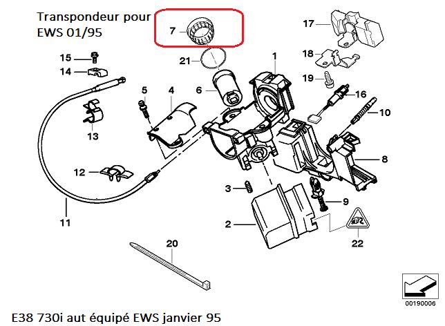 [ BMW E38 730i M60 Bva an 1994 ] Remplacer un boitier DME