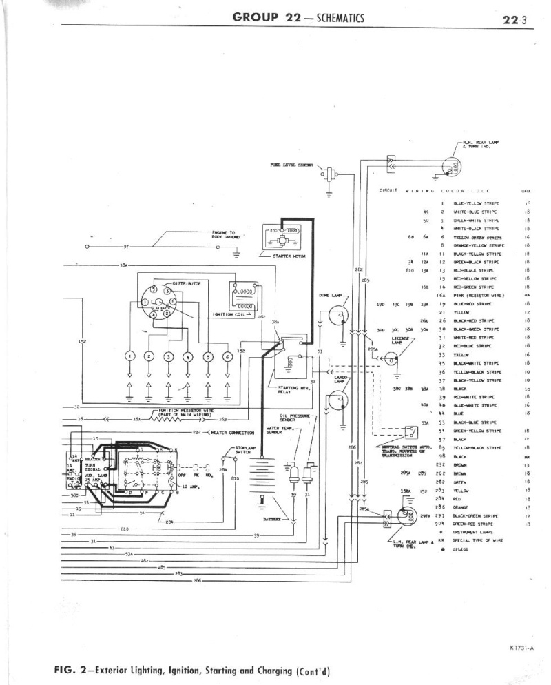 Wiring Diagram for 62 Falcon