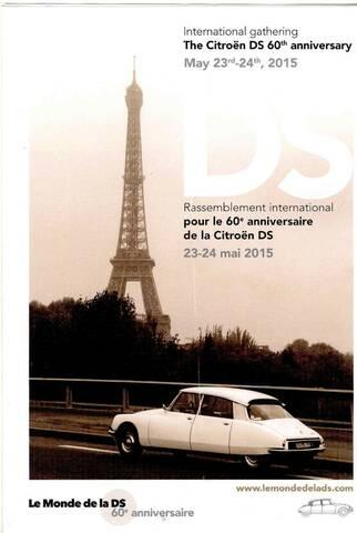 Les 60 Ans De La Ds : RASSEMBLEMENT, INTERNATIONAL
