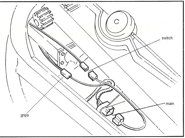 1994 BMW K100RS: What are those electrical connectors