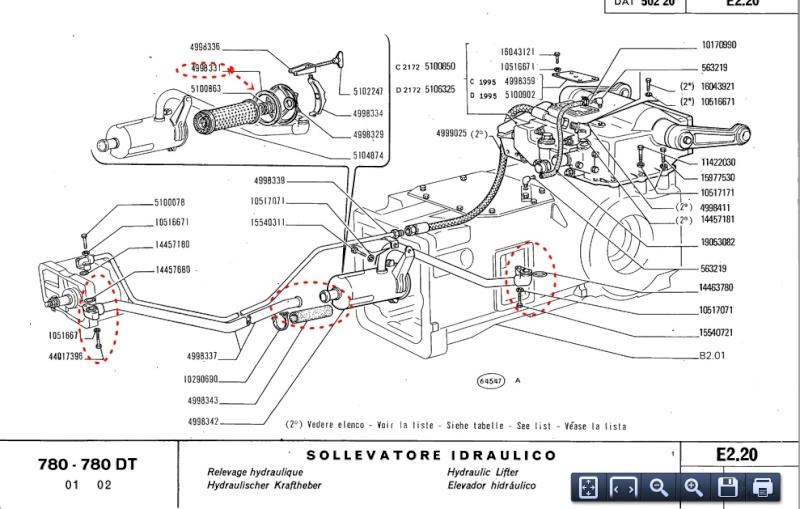 pompe hydraulique fiat 780?