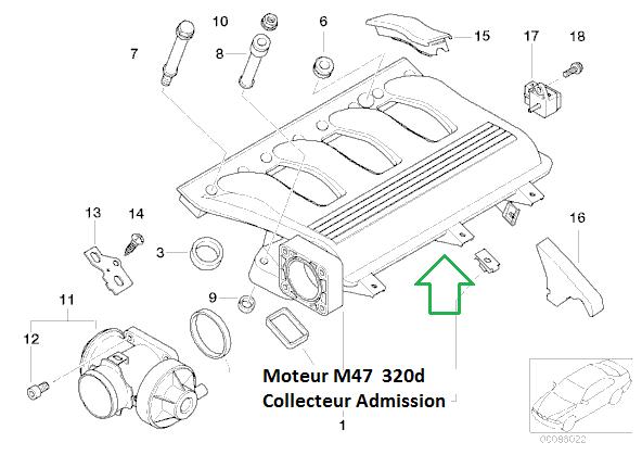[ BMW E46 320d M47 an 2001 ] Ne démarre plus mais