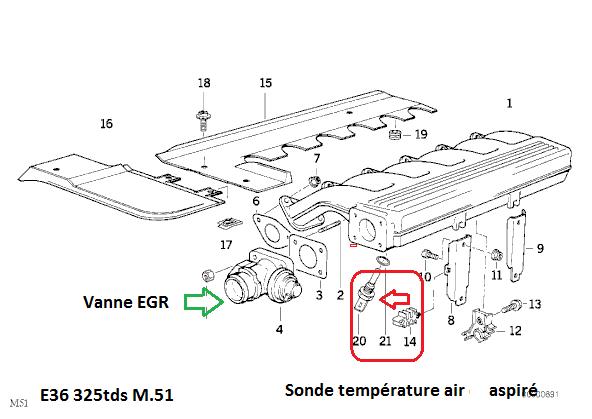 [ BMW E36 325 tds M51 an 1994 ] Probleme refroidissement