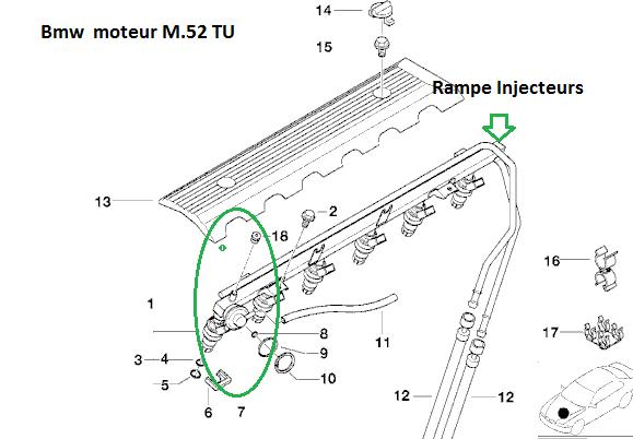 [ Bmw E46 323ci M52 an 2000 ] démarre très dificilement