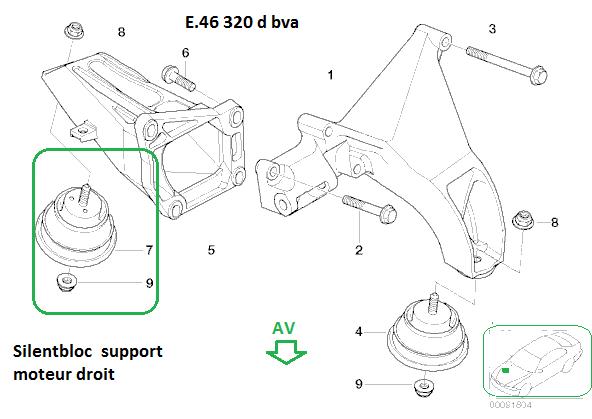 [ bmw E46 Touring 320d Bva an 2002 ] Vibrations venant de
