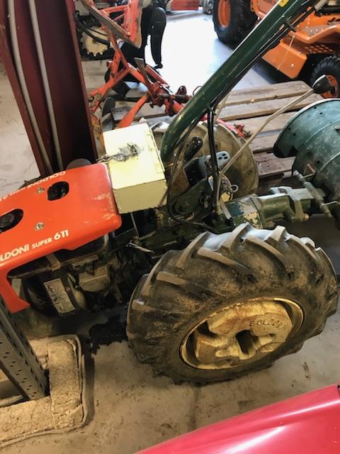 Tracteur Et Motoculteur D'antan : tracteur, motoculteur, d'antan, Goldoni, Super