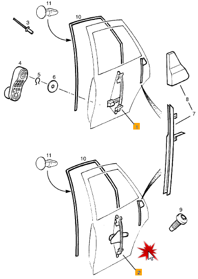Tutorial schimbare geamuri manuale in electrice Vectra B