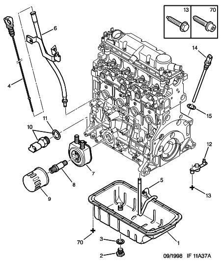 [ Peugeot 406 2.0 HDI an 1999 ] démonter jauge d'huile