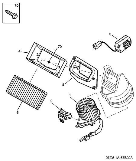 [ Peugeot 406 2.1 td an 1997 ] pas de ventillation dans l