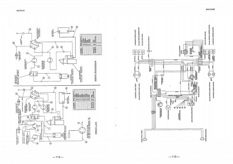 Schéma électrique pour MF 140 super