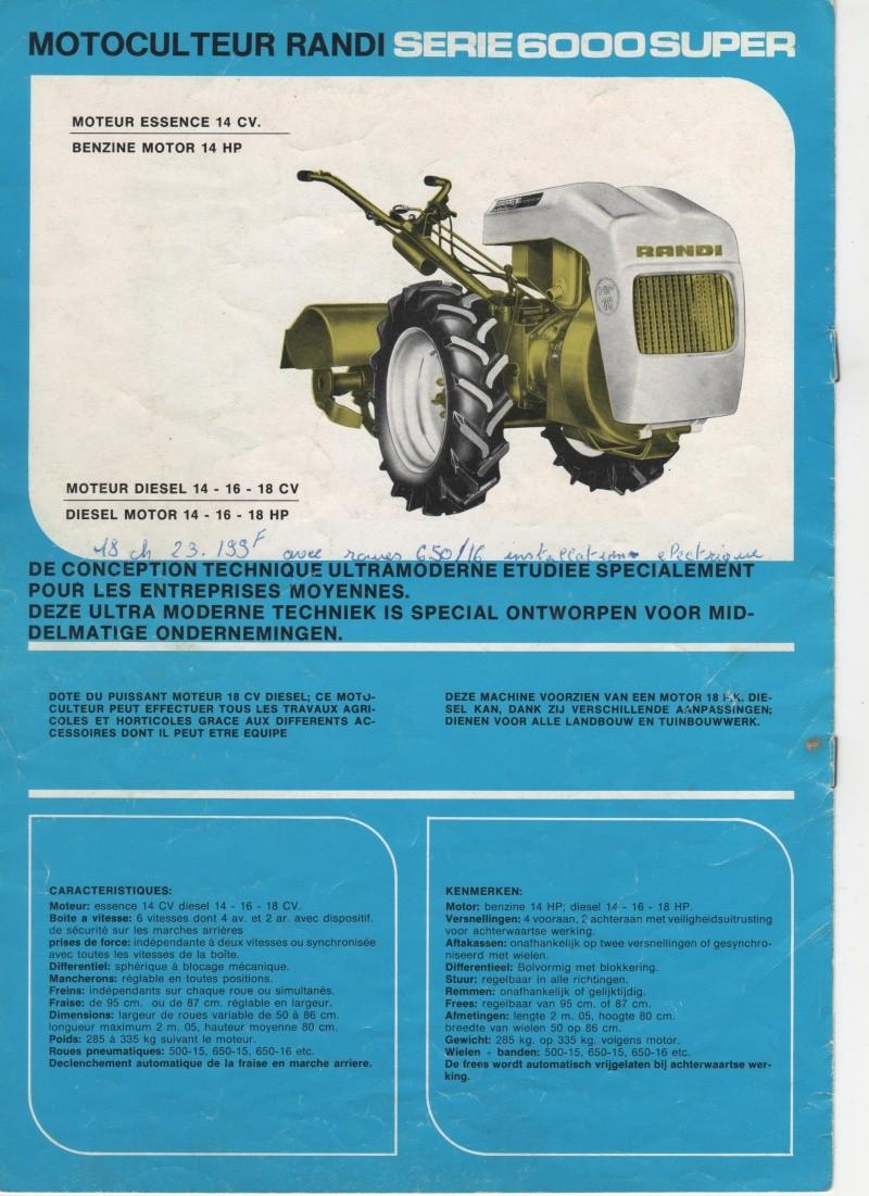 Tracteur Et Motoculteur D'antan : tracteur, motoculteur, d'antan, RANDI, MOTOCULTEUR, TRACTEUR, ARTICULE
