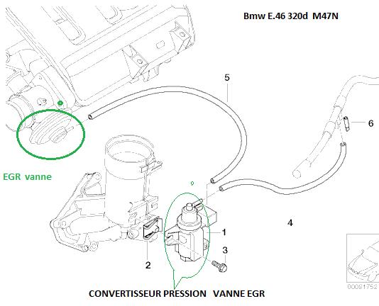 [ BMW E46 320D M47N an 2002 ] probleme fumée blanche a