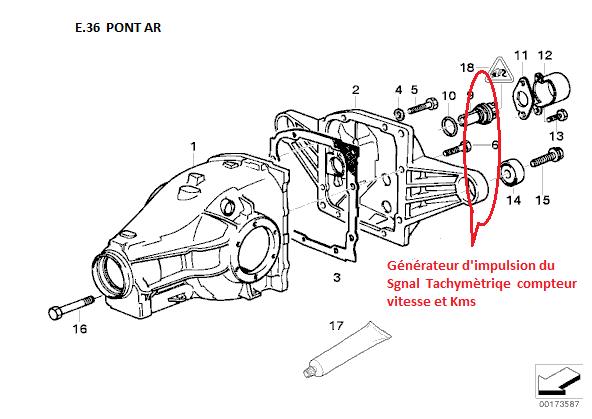 [ BMW E36 325 TDS an 1994 ] problème aiguille compteur
