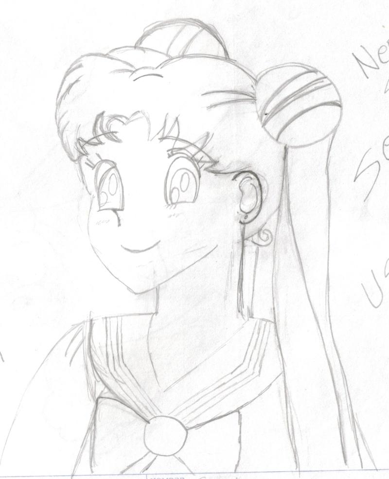 Serena Tsukino by Sakura Kou