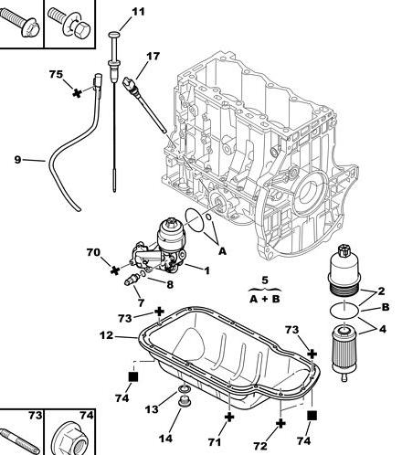[ Peugeot 206 1.4 16v an 2004 ] Remplacement pompe à huile