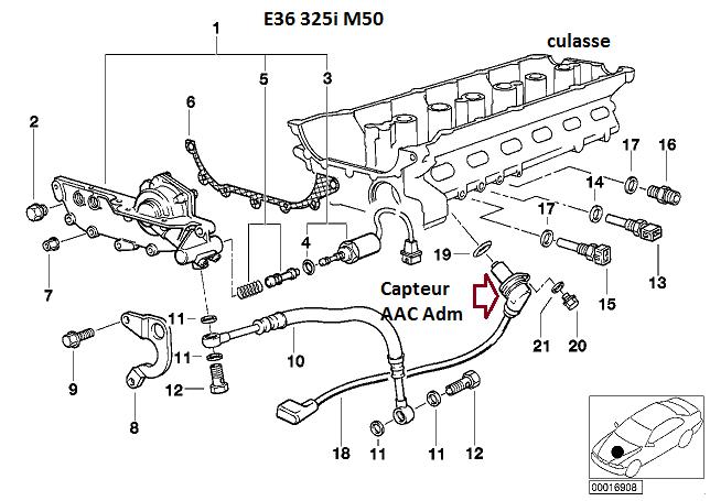 [ BMW E36 325I M.50 an 1993 ] problème démarrage (Résolu)