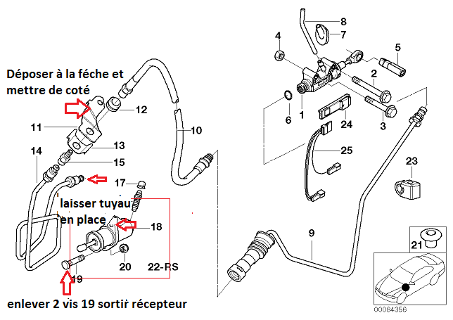 [ BMW E46 320d M47 an 2001 ] Claquement boite vitesse (résolu)
