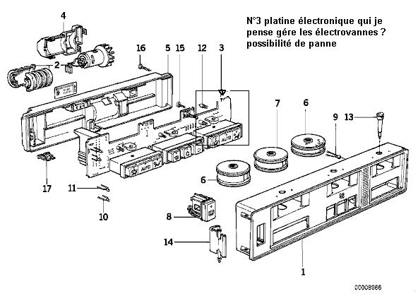 [ E32 730i M30 an 1987 ] plus de chauffage du coté