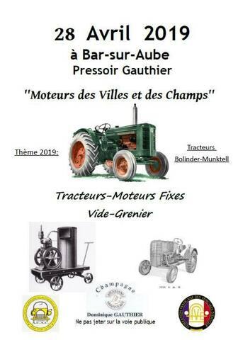 Manifestation De Vieux Tracteurs 2019 : manifestation, vieux, tracteurs, Moteurs, Villes, Champs, Avril