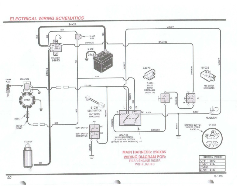 Briggs And Stratton Twin Cylinder Wiring Diagram | Two Cylinder Wiring Diagram Murray |  | Wiring Diagram