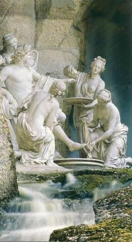 Apollon Servi Par Les Nymphes : apollon, servi, nymphes, Versailles,, Apollon, Servi, Nymphes