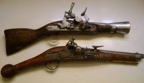 les armes a feu au cours des siecles