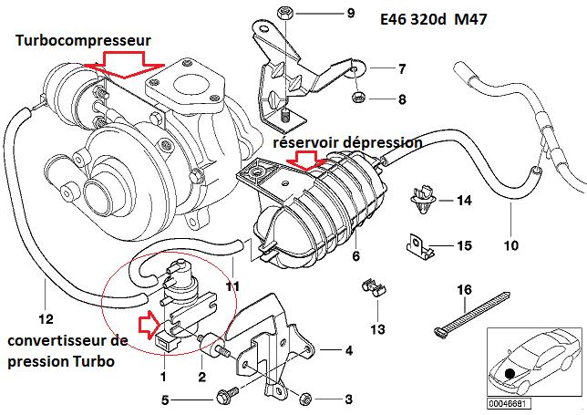 [ BMW E46 320D M47 an 1998 ] tester et changer l'injecteur