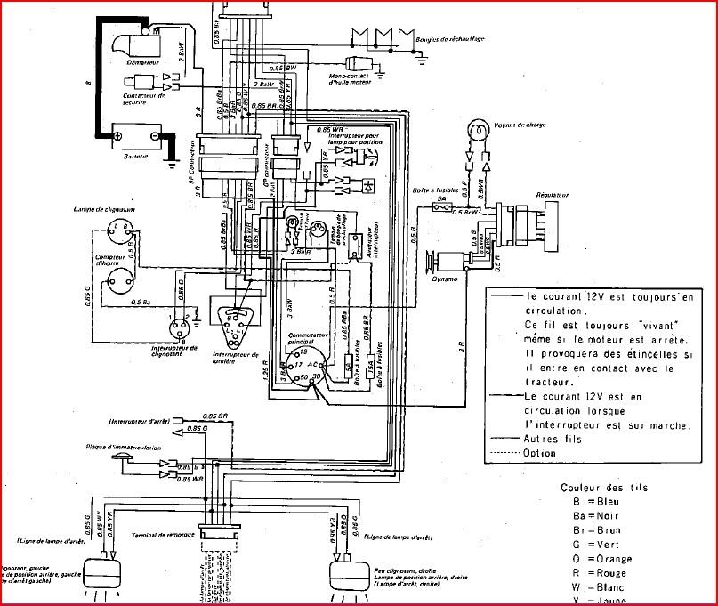 test ensemble batterie-alternateur-regulateur