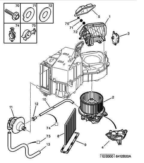 [ Citroen Xsara avec clim ] problème ventilation (résolu)