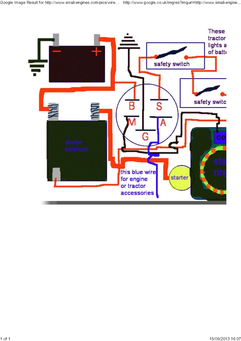 medium resolution of wiring up a modern key switch basic wiring accessories also with lawn tractor ignition switch wiring