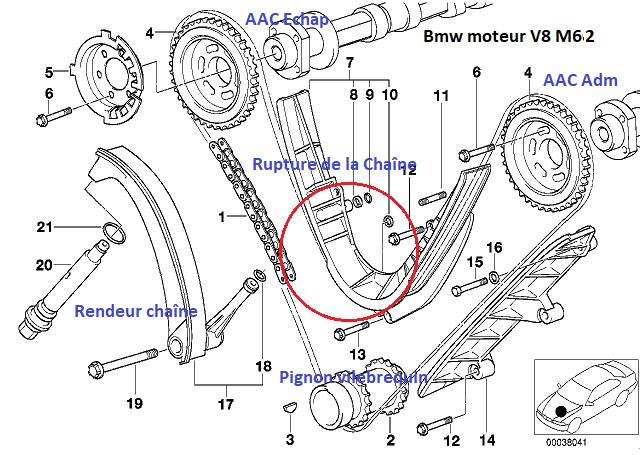 [ BMW E38 740I an 1998 ] raté d'allumage sur 3 cylindres
