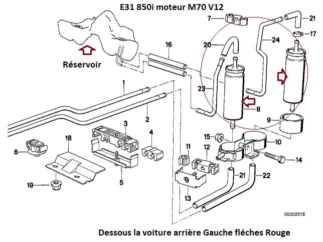 [ Bmw E31 850i Bva an 1991 ] Problème démarrage (Résolu)