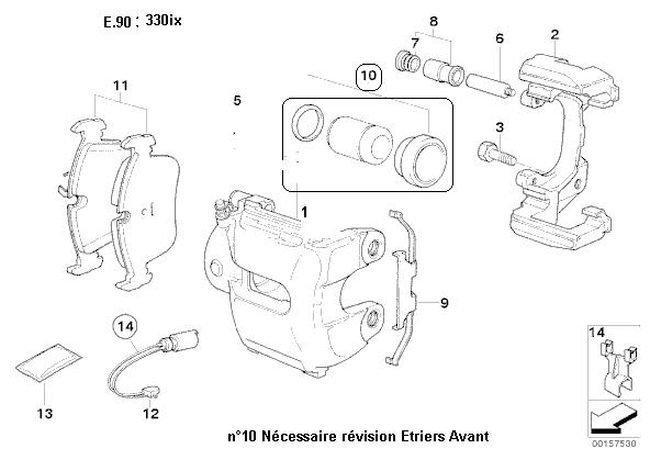 [ BMW e90 330xi an 2006 ] Vibration avant gauche, usure