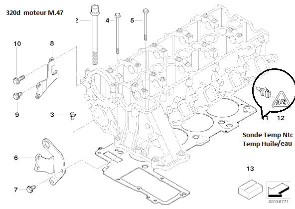 [ Bmw E46 320d touring an 2000 ] moteur broute au bout de