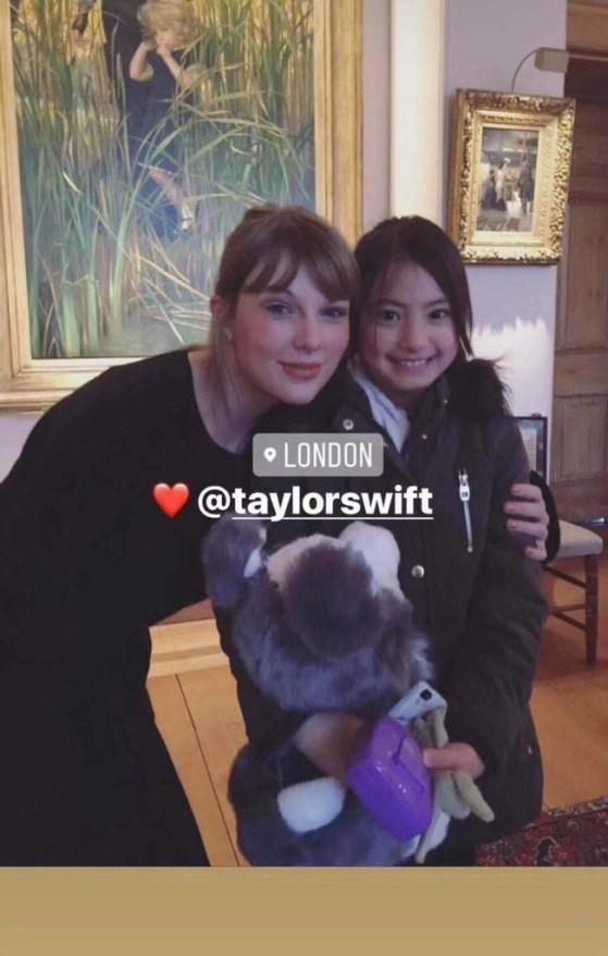 """Durante gravações do longa """"Cats"""", Taylor Swift teria revelado para fã que compôs uma canção para o filme"""