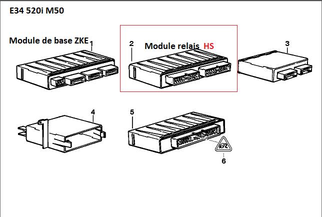 [ BMW E34 520i an 1993 ] Problème vitre électrique et