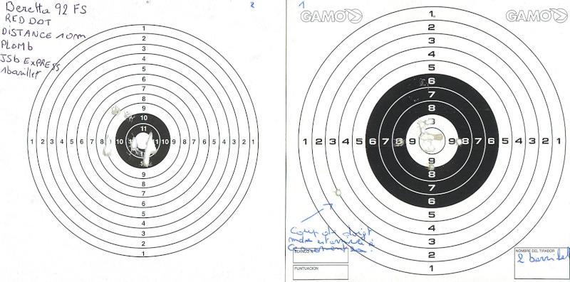 Beretta 92fs PPC vs Walther cp88
