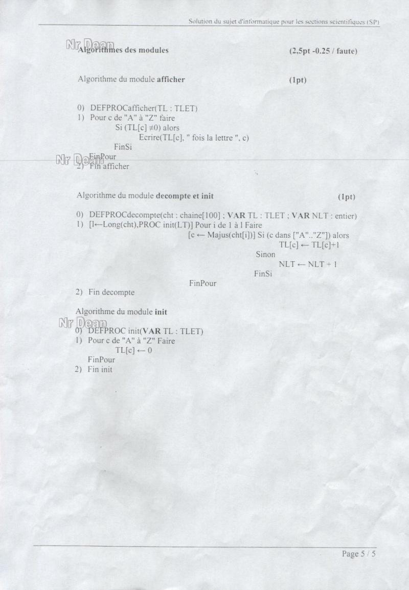 Correction Bac Théorique 2008(Sc.Exper+Math+Tech.)