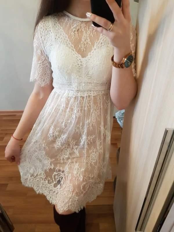 Vestidos de Renda verão 2022 para gestante