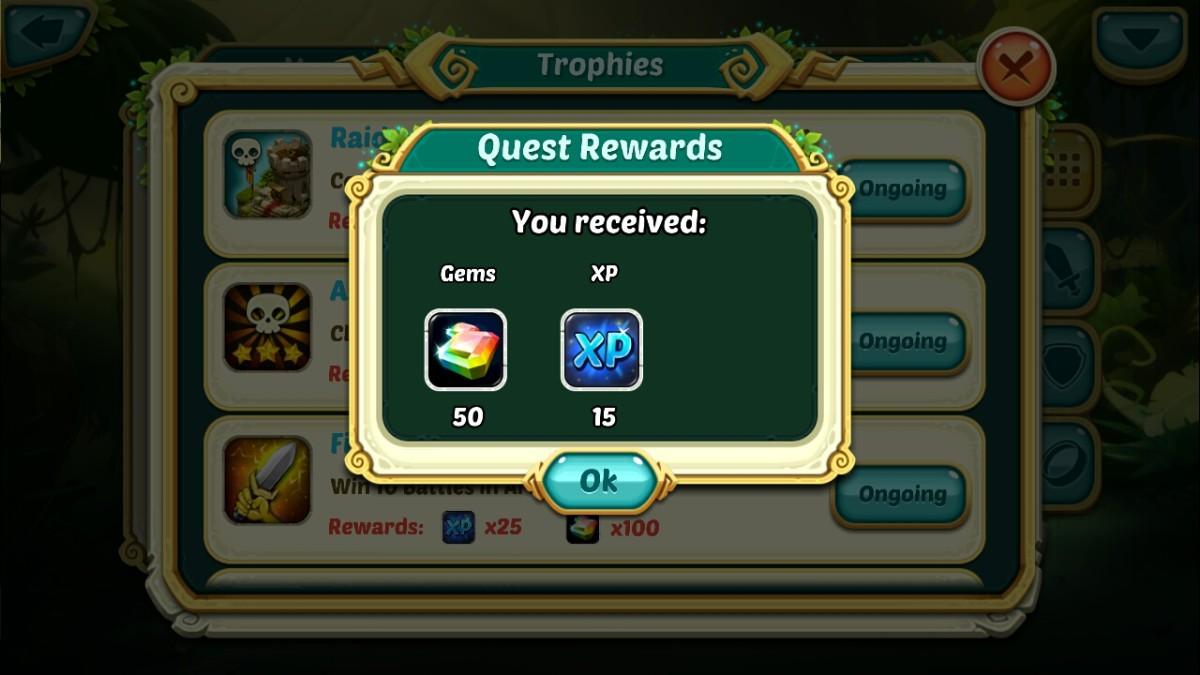 quest rewards wakfu raiders