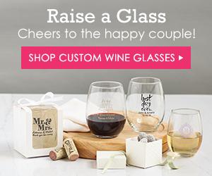 customized wine glasses