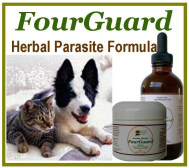 Capsules for dogs, liquid extract for cats