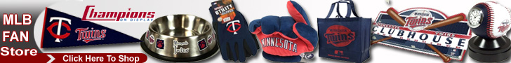 Shop the Minnesota Twins Fan Store at ChampionsOnDisplay.com