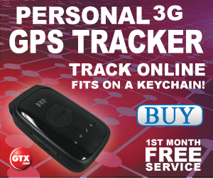 Personal 3G GPS Tracker