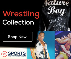 Shop for Thousands of Authentic Autographed Wrestling Collectibles at SportsMemorabilia.com