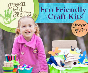 Green Kid Crafts Earth Friendly Craft Kits -eco shop - living in harmony with nature
