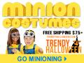 Minion Group Costumes via TrendyHalloween.com - Go Minioning >